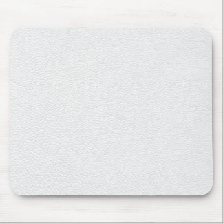 Picture of White Leather. Mouse Pad