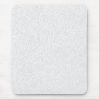 Picture of White Leather. Mouse Pads