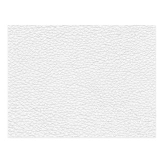 Picture of White Leather. Postcard