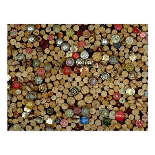Picture of Wine corks Postcard