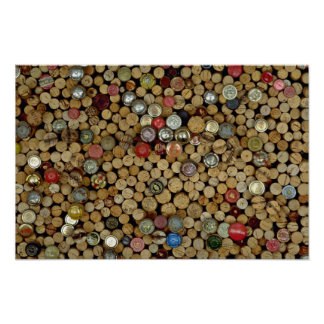 Picture of Wine corks Poster