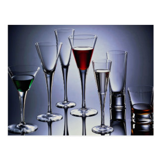 Picture of Wineglass suite Postcard