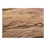 "Picture of Wood Fossil. 5"" X 7"" Invitation Card"