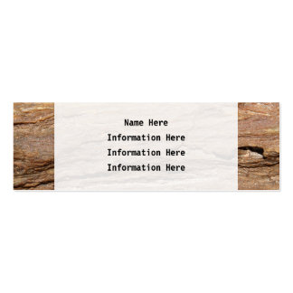 Picture of Wood Fossil Business Card