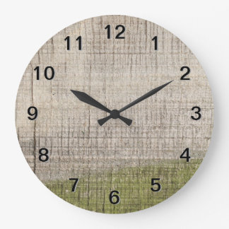 Picture of Wood with Green Algae. Wallclock