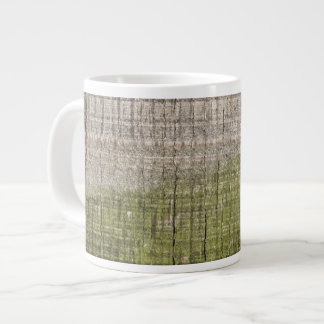 Picture of Wood with Green Algae. Giant Coffee Mug