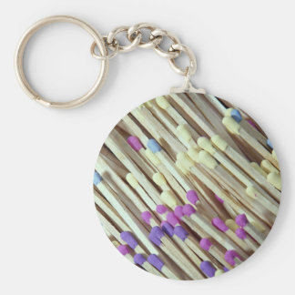 Picture of Wooden matches Keychain