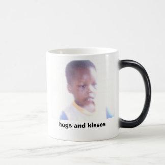 Picture or Video 005, hugs and kisses Magic Mug