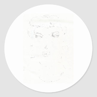 Picture Perfect Classic Round Sticker