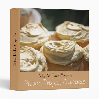 Picture Perfect Cupcakes Recipe Binder
