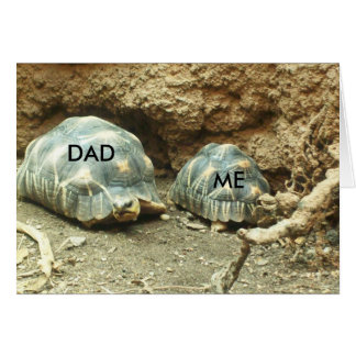 Picture Perfect: Dad & Me Greeting Card