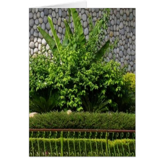 Picture Perfect Green EverGreen AWGP Temple Wall Greeting Card