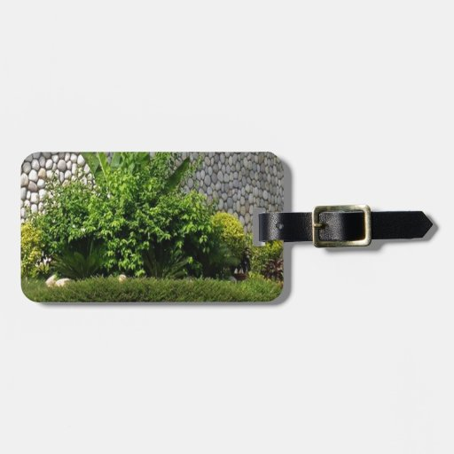 Picture Perfect Green : EverGreen AWGP Temple Wall Travel Bag Tags