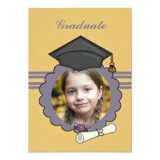 """Picture Perfect - Photo Graduation Invitation 5"""" X 7"""" Invitation Card"""
