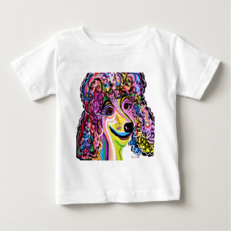Picture Perfect Poodle Baby T-Shirt