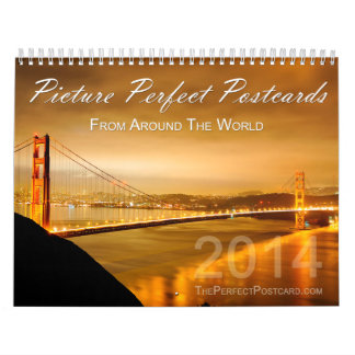Picture Perfect Postcards from Around the World Calendar