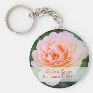 Picture Perfect Rose Keychain