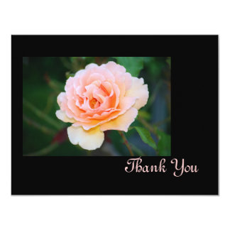 Picture Perfect Rose Thank You Card