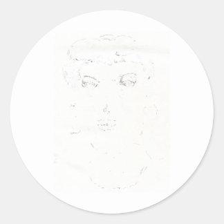 Picture Perfect Round Sticker