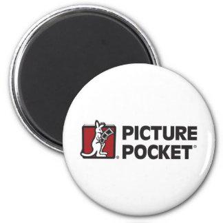 Picture Pocket Original Logo 2 Inch Round Magnet