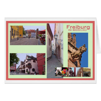 Picture postcard Freiburg Greeting Card