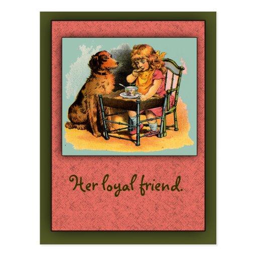 Picture Primer Children's Primer Art Postcard