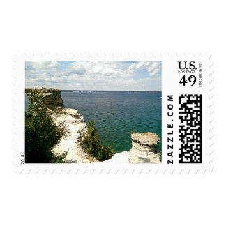 Picture rocks postage