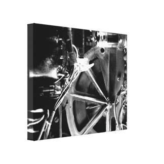 Picture Rolls Gray Canvas Print