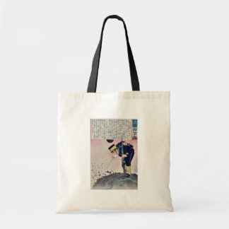Picture showing a monster by Kobayashi,Kiyochika Bags