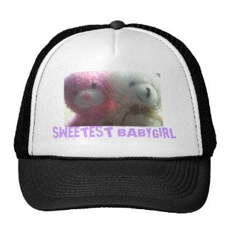 Picture, SWEETEST BABYGIRL Trucker Hat