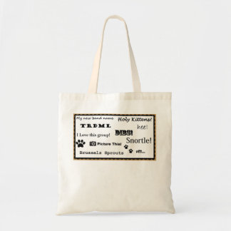 Picture this! tote bag