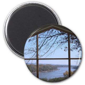 Picture Window 2 Inch Round Magnet