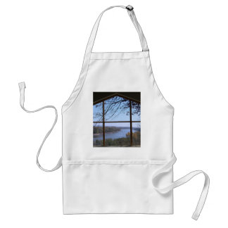 Picture Window Adult Apron