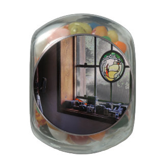 Picture Window Glass Jar