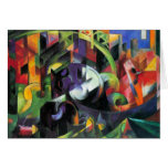 Picture with Cattle by Franz Marc; Bild mit Rinder Greeting Cards