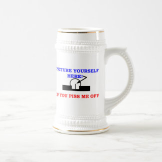 PICTURE YOURSELF 18 OZ BEER STEIN