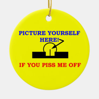 PICTURE YOURSELF CHRISTMAS ORNAMENT