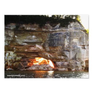 Pictured Rocks 4 Photographic Print