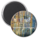 Pictured Rocks National Lakeshore 2 Inch Round Magnet