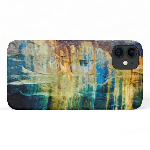 Pictured Rocks National Lakeshore Abstract Photo iPhone 11 Case