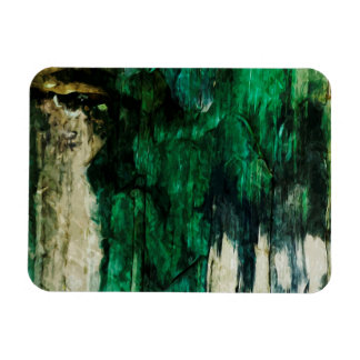 Pictured Rocks National Lakeshore Abstract Rectangular Photo Magnet