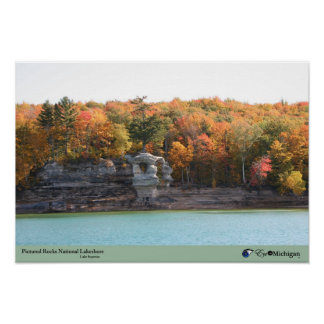 Pictured Rocks National Lakeshore Poster
