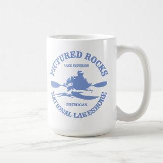 Pictured Rocks (rd) Coffee Mug