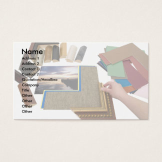 PictureFraming, Name, Address 1, Address 2, Con... Business Card
