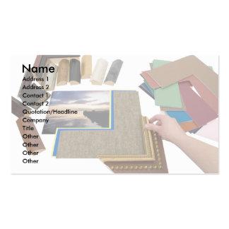 PictureFraming, nombre, dirección 1, dirección 2, Tarjetas De Visita