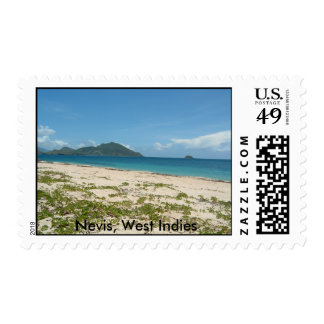 Pictures 008, Nevis, West Indies Postage