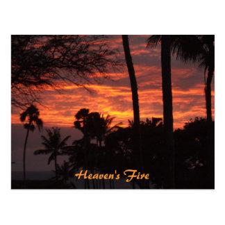 Pictures 2007-2008 135, Heaven's Fire Design, H... Postcard