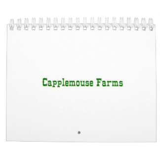 Pictures from Capplemouse Farms Calendar
