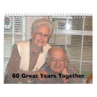 Pictures from Meme's 001, 60 Great Years Together Wall Calendars