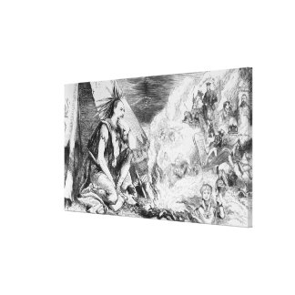 Pictures in the Fire' Canvas Print